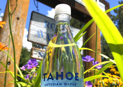 Tahoe Artesian Water™ - at  Sunnyside Restaurant and Lodge - West Shore Lake Tahoe